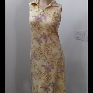 Vintage Tommy Bahama tank dress